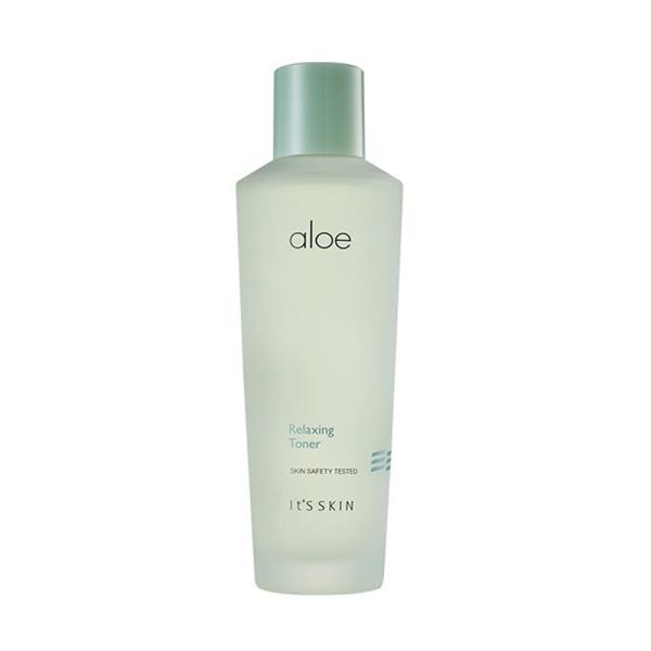 Nước hoa hồng làm dịu da Its skin Aloe Relaxing Toner 150ml