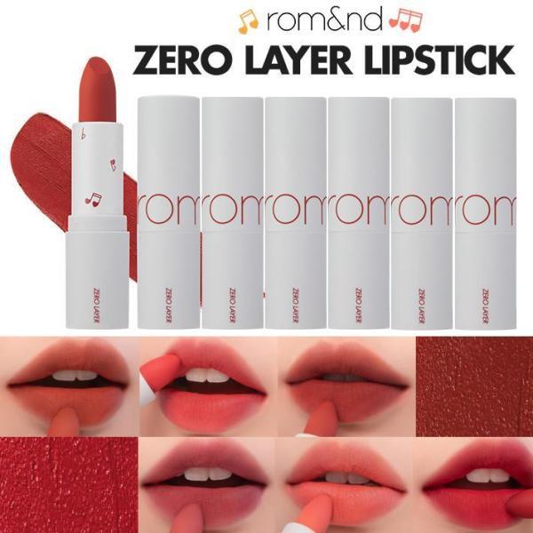 Son Thỏi Lì Romand Zero Layer Lipstick