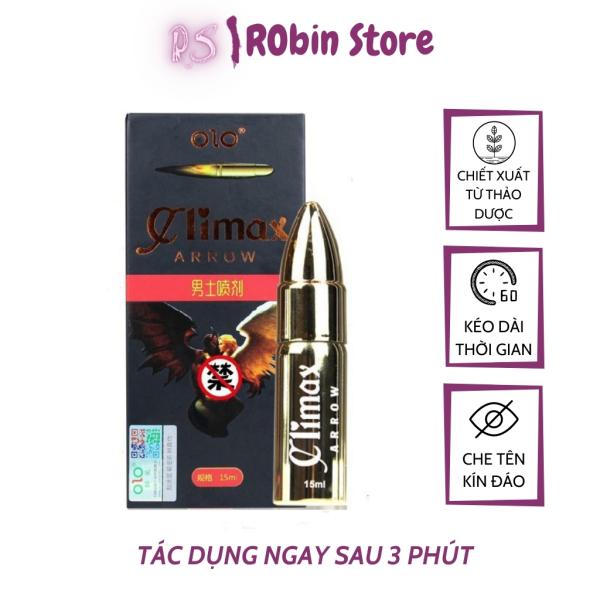 Gel xịt Arrow Climax  chiết xuất thảo dược, kéo dài thời gian quan hệ lên tới 60p, chai 15ml _ ROBIN STORE giá rẻ