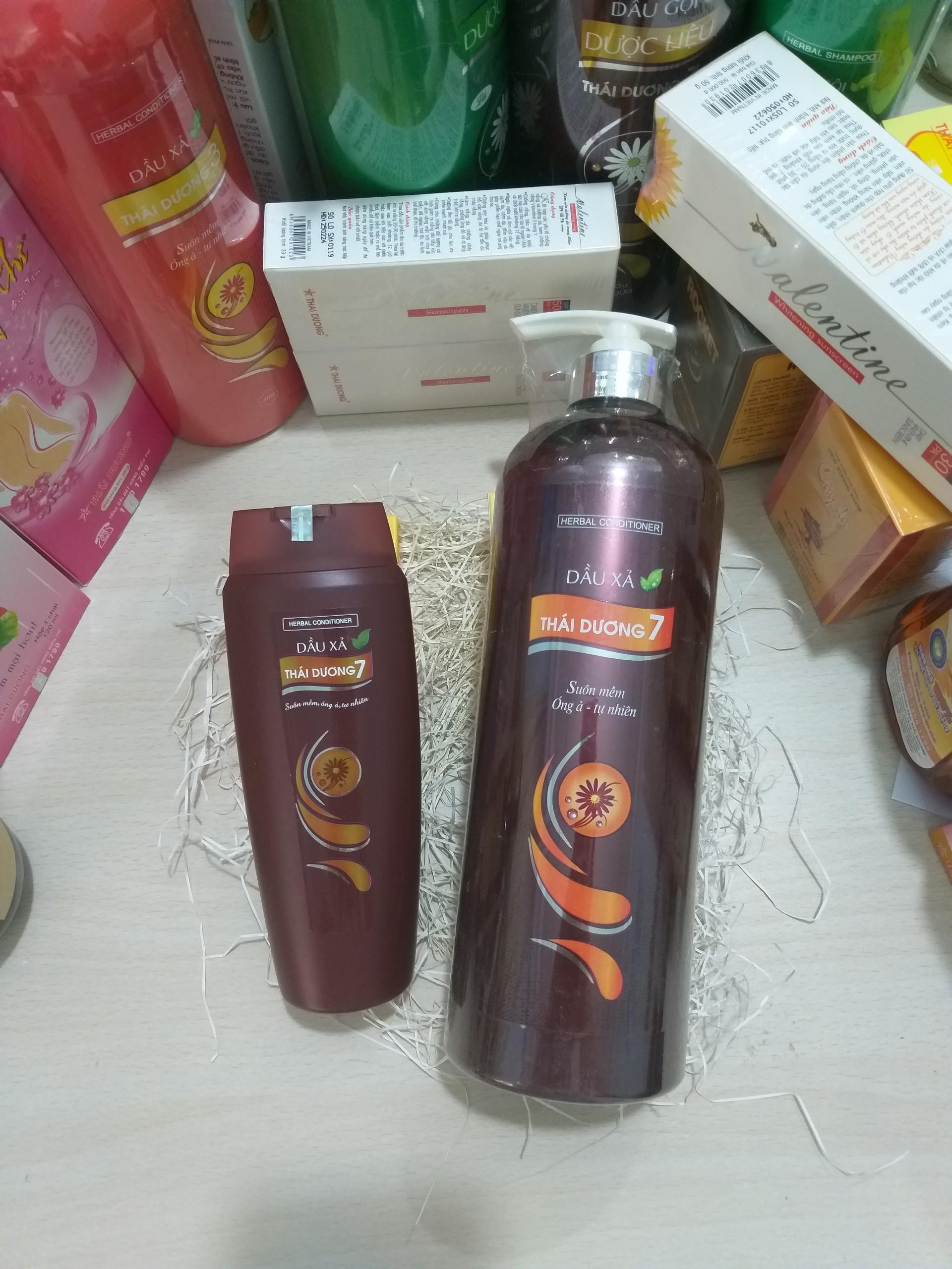 Dầu xả Thái Dương 7 - Giúp phục hồi tóc