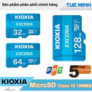 Thẻ nhớ MicroSD Kioxia tốc độ Class 10 U1 100MB - hàng chính hãng FPT phân phối thumbnail