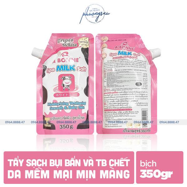 [CHÍNH HÃNG] Sữa Tắm Muối Bò A Bonne Spa Milk Salt Thái Lan 350gr, Giúp Tẩy Sạch Bụi Bẩn Và Tế Bào Chết giá rẻ