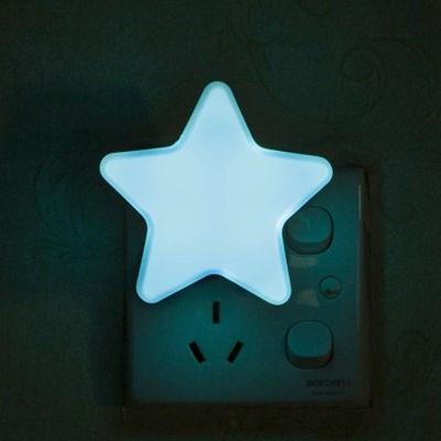 Đèn ngủ gắn tường| Đèn led treo tường| đèn ngủ cam ung ngôi sao | Đèn ngủ gắn tường cảm ứng hình ngôi sao