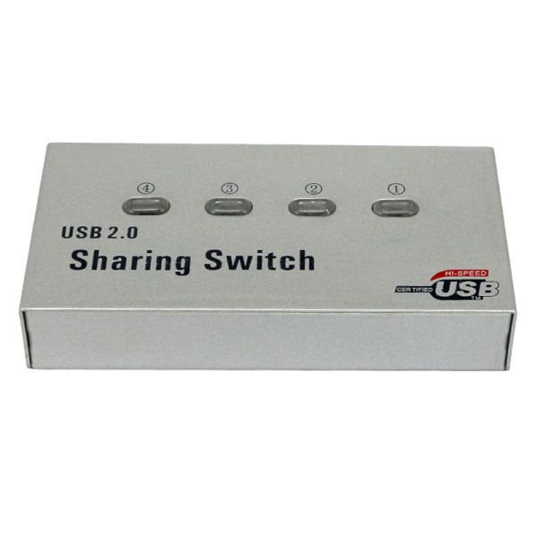 Bảng giá USB 2.0 4 Port Printer Sharing Automatic Device Printer Switch for Computers Laptops Phong Vũ
