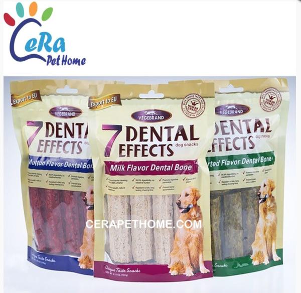Bánh Xương Cao Cấp Nhai Sạch Răng Chó 7 Dental Effects 100 gr - Snack 109