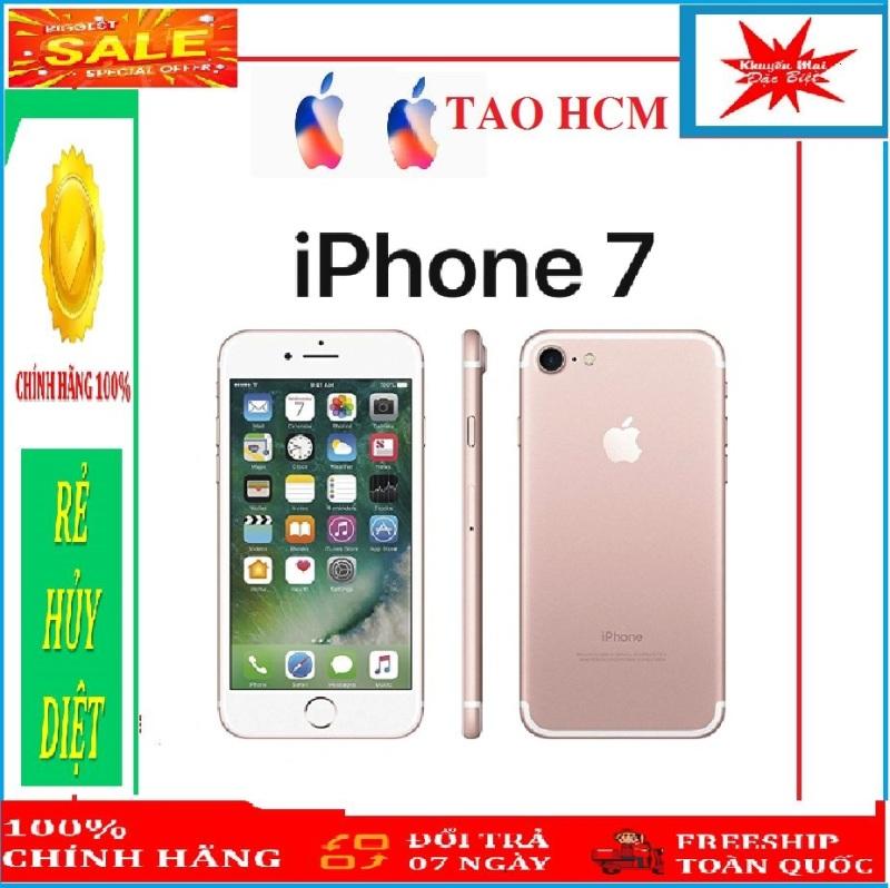 điện thoại CHÍNH-HÃNG IPHONE7 64G - QUỐC TẾ fullbox bảo hành 12 tháng