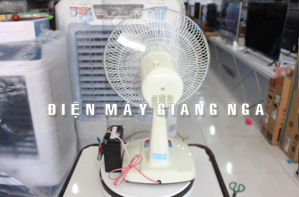 Quạt ắc quy 12V điện cơ 91