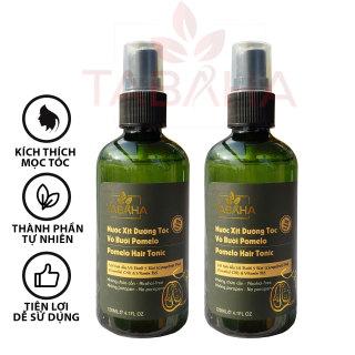 Liệu trình 2 chai Xịt tóc tinh dầu bưởi mọc tóc nhanh tabaha 120ml giúp tóc mọc nhanh 3 lần thông thường thumbnail