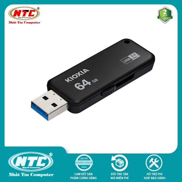 Bảng giá [Nhập ELJUN21 giảm 10%] USB 3.2 Gen 1 Kioxia TransMemory U365 64GB 150Mb/s (Đen) - Formerly Toshiba Memory - Nhất Tín Computer Phong Vũ