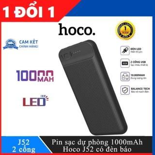 Sạc Dự Phòng HOC0 J52 Dung Lượng 10000mAh Có Sạc Nhanh 2 USB thumbnail