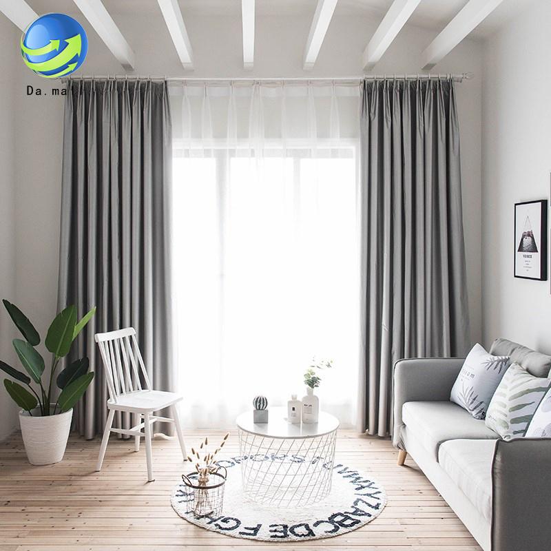 Rèm Cửa Cách Nhiệt Grommet Cho Phòng Ngủ (1 Tấm, W140 X L200 CM, Bạc)