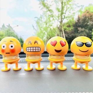 CMOBO 6 Thú Nhún Emoji con lắc lò xo con nhún 6