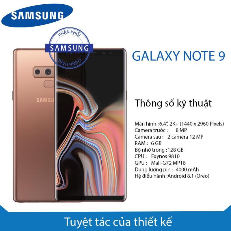 Điện thoại Galaxy Note9 (6/128Gb)