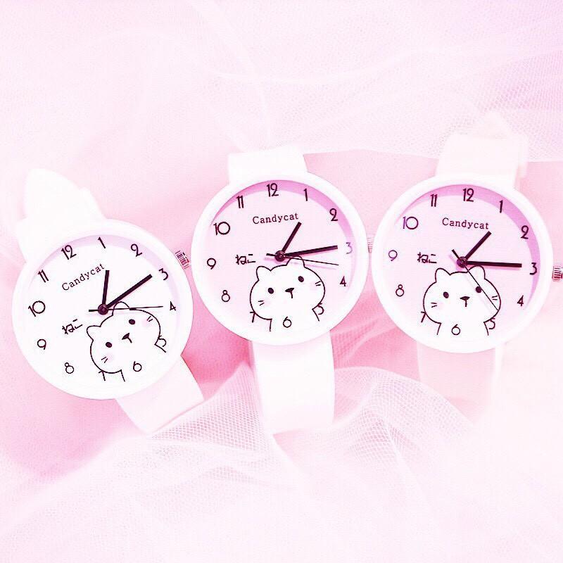 Giá bán Đồng hồ thời trang nữ Candycat Mèo Kute RO889