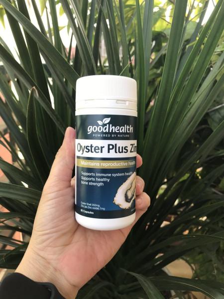 Tinh chất hàu Oyster Plus ZinC - Goodhealth (60 viên)