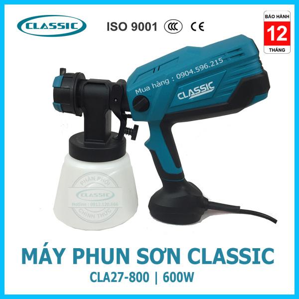 Máy phun sơn cầm tay Classic CLA27-800 | Kèm 4 béc phun : 1.5mm-1.8mm-2.2mm-2.6mm