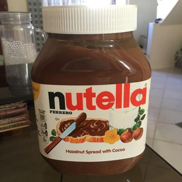 Socolate hạt phỉ Nutella hũ 200g nhập khẩu Úc Date 5/2021 vị ngọt dịu có Video Sp
