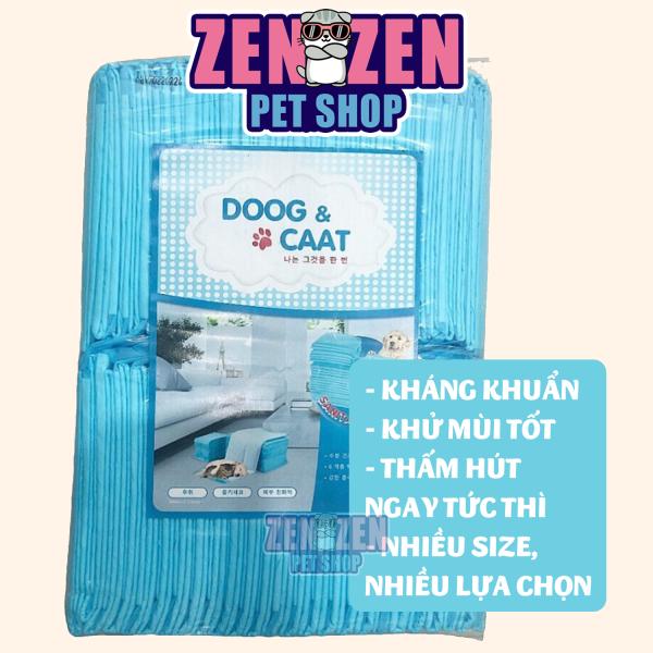 Miếng lót chuồng cho Chó Mèo DOOG & CAAT siêu thấm hút - Miếng lót vệ sinh cho thú cưng giá rẻ, siêu thấm hút