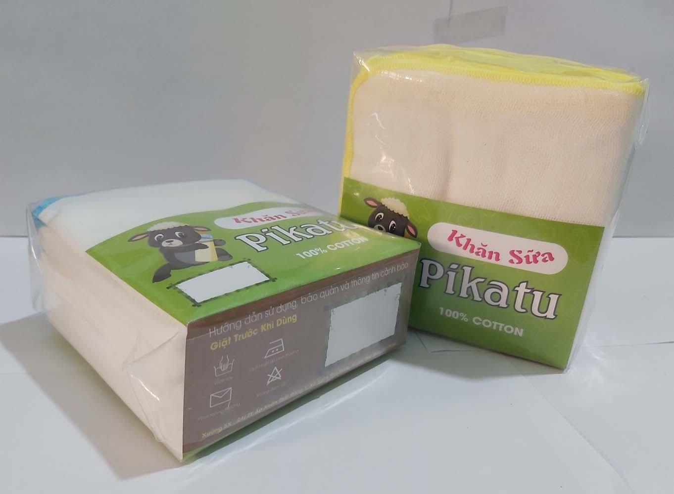Combo 20 cái Khăn sữa cuốn biên 4 Lớp 25X25