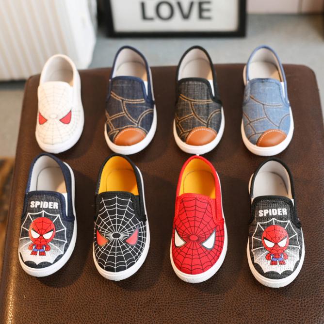 Giày Siêu Nhân SpiderMan cho bé trai 2 - 8 tuổi giá rẻ