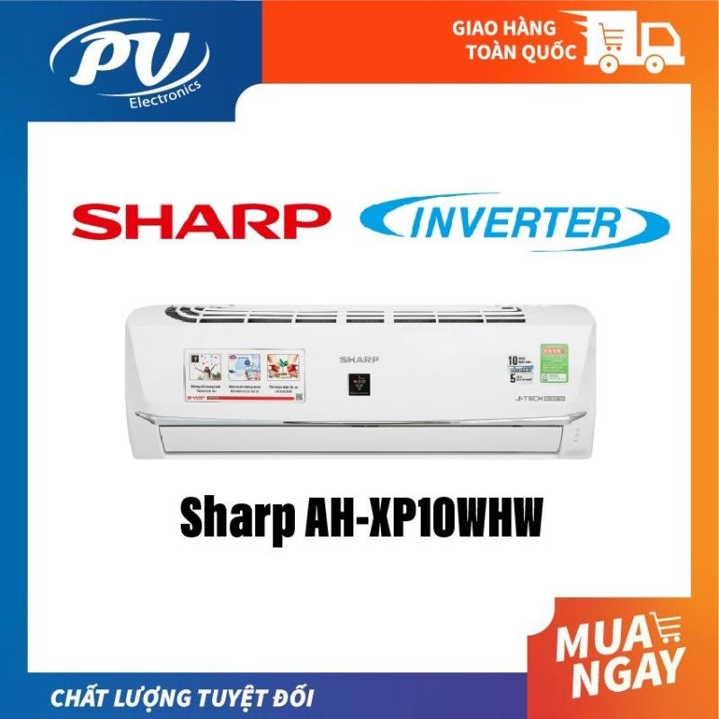 Bảng giá Máy Lạnh Sharp AH-XP10WHW INVERTER AH-XP10WHW 1HP Chế độ Breeze (gió tự nhiên), Trí thông minh nhân tạo AIoT kết nối điện thoại để kiểm soát nhiệt độ và vận hành ổn định, Phát ion lọc không khí