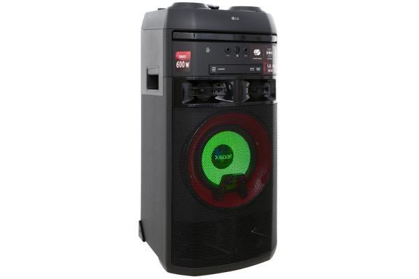 Mua Loa Karaoke LG OL55D 600W.bluetooth.karaoke.nghe nhạc.kẹo kéo.mini.bass mạnh.giá rẻ.công suất lớn.led 7 màu.gia đình.cỡ lớn