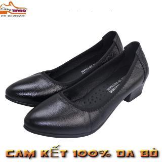 giày nữ công sở da bò 4cm 4PTA thumbnail