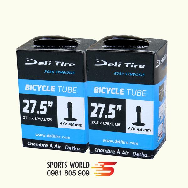 Mua Săm ruột xe đạp 27.5x1.75 van Mỹ AV48mm- DELI-TIRE - cặp 2 cái