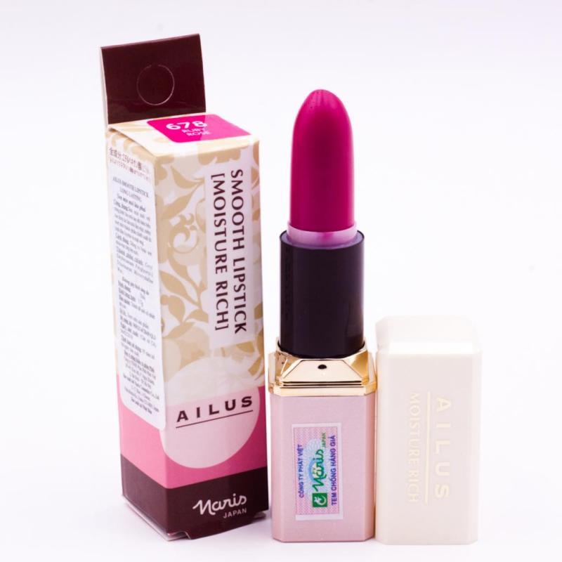 Son dưỡng giàu độ ẩm 678 Ruby Rose Naris Ailus Smooth Lipstick- Hàng chính hãng cao cấp