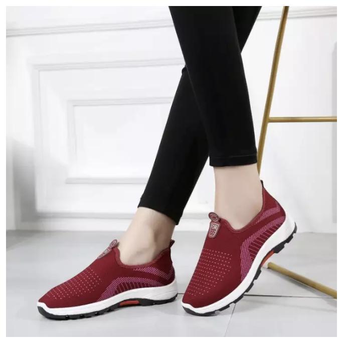 Giày lười nữ, giày slip on hàng cao cấp (nhiều màu, full hộp) Size 36 đến 40 V128