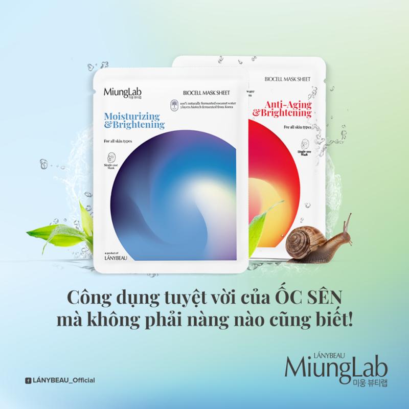 Mặt Nạ Miung Lab Mẫu Mới (Bộ 7 Miếng Bơ & Lựu) nhập khẩu
