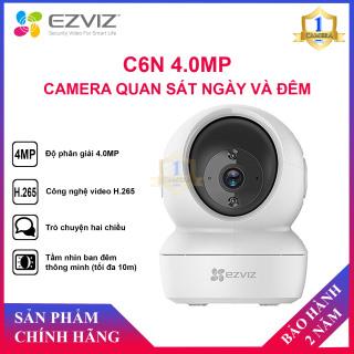 [CHÍNH HÃNG]Camera Ezviz C6N 4MP - Điều Khiển Xoay 360 Độ, Đàm Thoại 2 Chiều - Camera Số 1 thumbnail