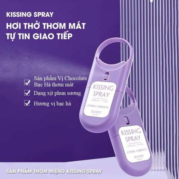 XỊT THƠM MIỆNG KISSING SPRAY giá rẻ