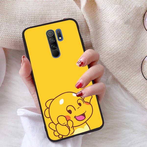 [HCM]Ốp lưng Xiaomi Redmi 9 viền dẻo TPU BST Khủng Long Lai Ong