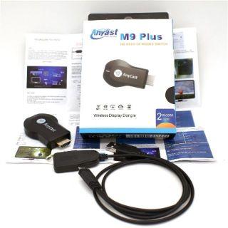 Bộ truyền tín hiệu màn hình không dây HDMI Anycast M9 Plus . Cho Đường truyền Hình Ảnh Full Hd+ 1080P, Hàng Nhập Khẩu, Giá Tốt . thumbnail