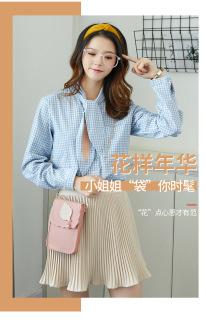 Túi đeo chéo nữ đựng điện thoại phong cách Hàn Quốc HQ03 cực xinh thumbnail