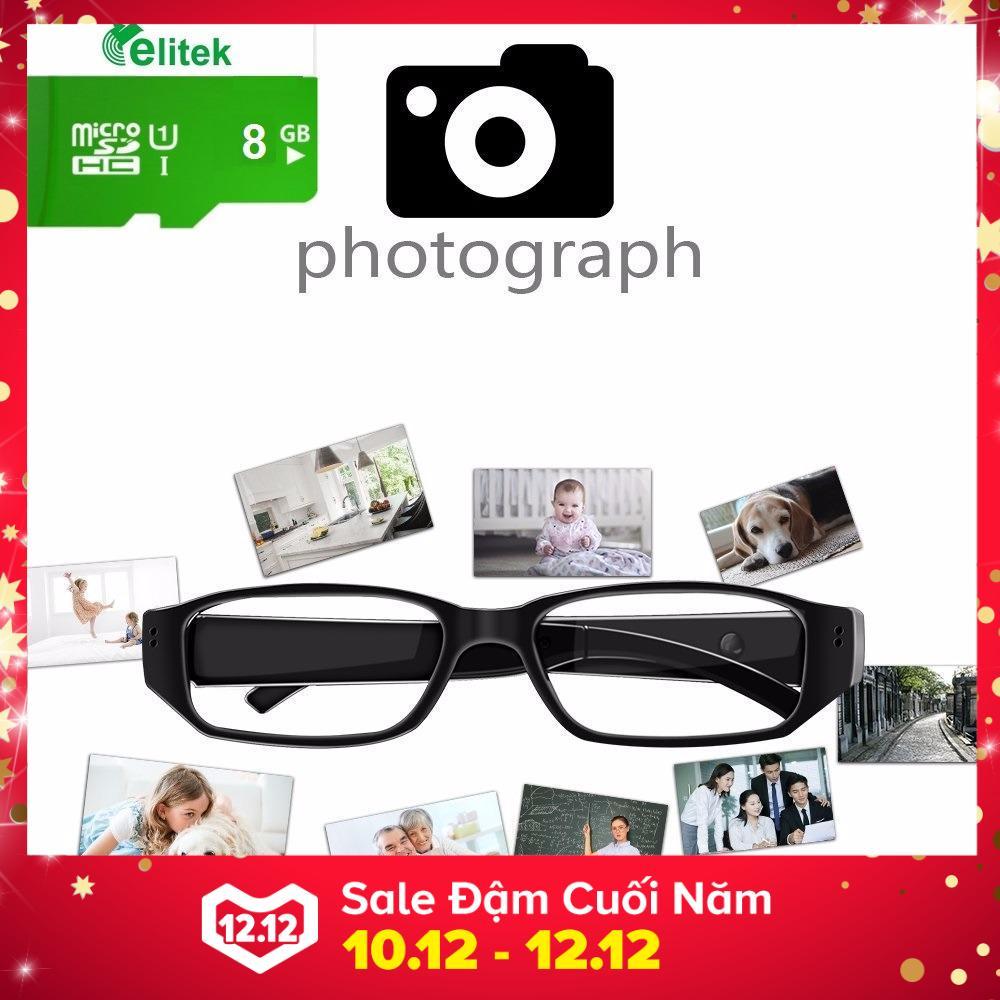 Hình ảnh Mắt Kính Camera Mini Thông Minh + Tặng Kèm Thẻ Nhớ 8GB