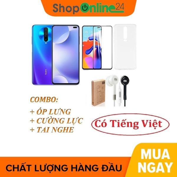 Điện thoại Xiaomi Redmi K30 Ram 6GB 128GB tiếng Việt + Ốp lưng + Cường lực + Tai nghe - Hàng nhập khẩu
