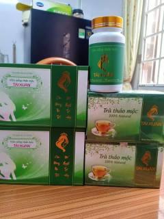 Viên uống thảo mộc Tái Xuân Lan Chi+trà.Hỗ trợ suy giảm nội tiêt ,chậm quá trình lão hóa thumbnail