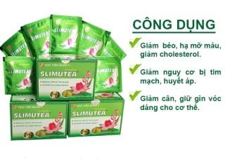 Trà giảm cân Slimutea HVQY giúp giảm cân, giảm béo và hạ mỡ máu hiệu quả thumbnail
