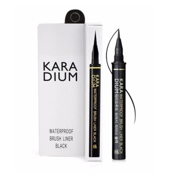 Kẻ Mắt Karadium Waterproof Brush Liner Không Trôi Hàn Quốc Florence Store