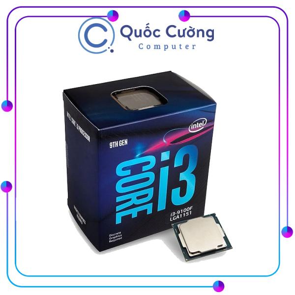 Bảng giá CPU Intel Core i3 9100F 4 Cores-4 Threads 3.6GHz 1151-v2 Box chính hãng (Không GPU) Mã 7W Phong Vũ