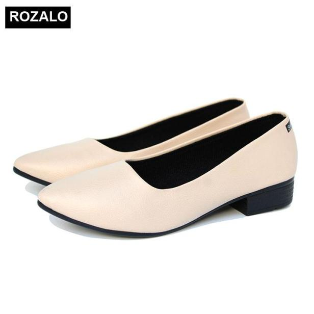 Giày búp bê nữ da mờ Rozalo R5603 giá rẻ