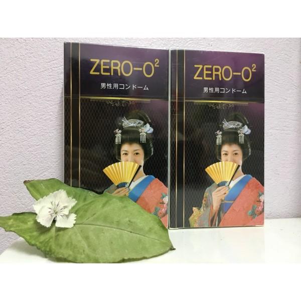 Bao Cao Su ZERO-O2 Nhập Khẩu Nhật Bản Hộp 12 chiếc