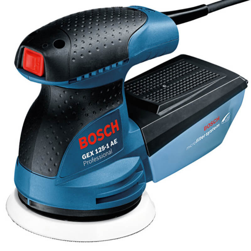 Máy chà nhám rung tròn GEX 125-1 AE Professional- Bosch chính hãng