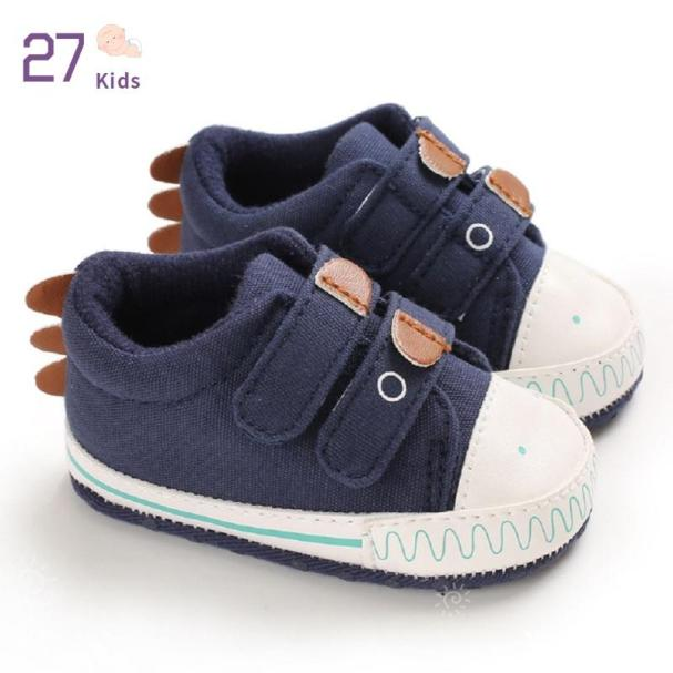 27 Giày Trẻ Tập Đi Thiết Kế Vải Bố Cho Cả Nam Và Nữ Giày Đế Mềm Chống Trượt giá rẻ