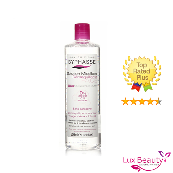 Nước tẩy trang Byphasse Solution Micellaire size 500ml
