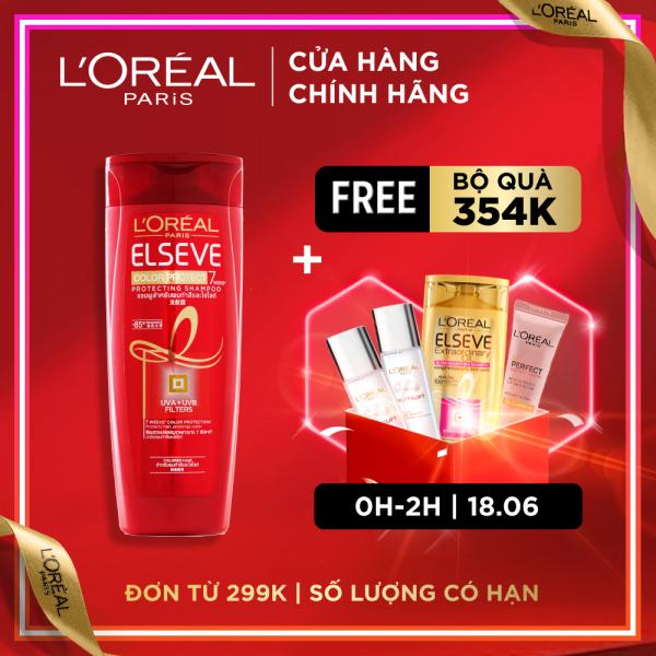 Dầu gội giữ màu tóc nhuộm Loreal Paris Elseve Color Vive Protecting Shampoo 170ml