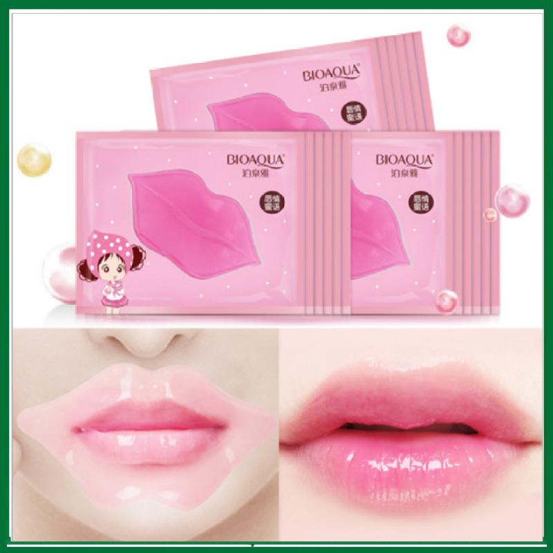 COMBO 5 Mặt nạ dưỡng môi collagen BIOAQUA 🔥𝑭𝑹𝑬𝑬𝑺𝑯𝑰𝑷🔥 giảm thâm, làm mềm, dưỡng ẩm môi , Mặt nạ môi Dưỡng môi thâm . BIG SALE MART