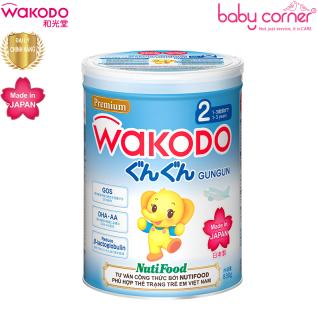 Sữa Bột WAKODO GUNGUN SỐ 2 Chuẩn Nhật Bản Cho Bé 12-36 Tháng Tuổi - Long 830g thumbnail